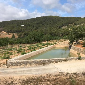 Water Ponds and Fire Prevention in Serra Grossa