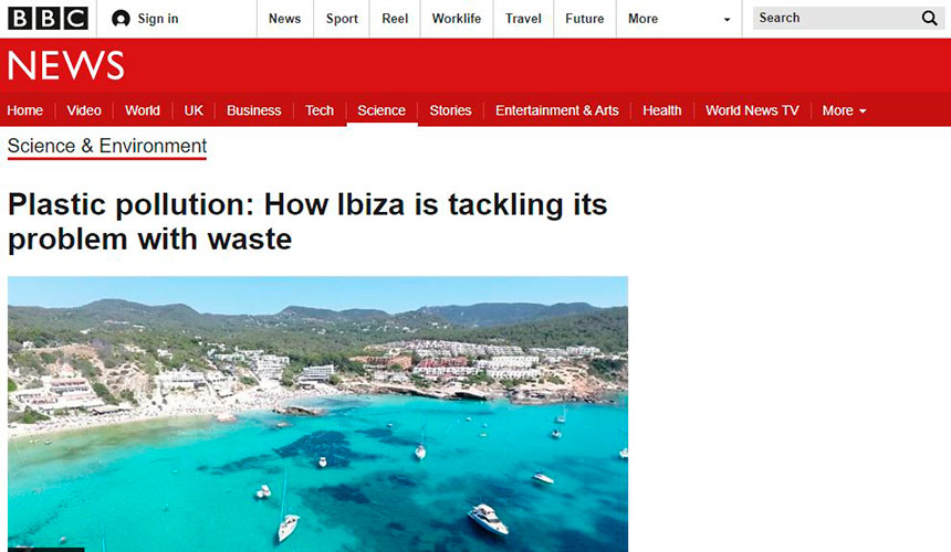 IPF on the BBC – How Ibiza is tackling plastic pollution