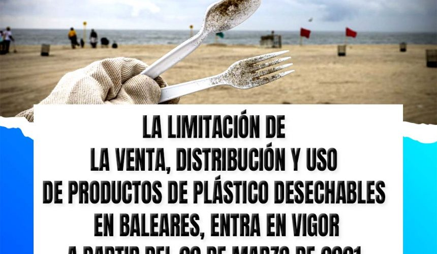 """Plastic Free Balearics welcomes the new bans set in place by the """"Balearic Waste Law"""" and calls on the Government for regulations on bioplastics, to avoid fake solutions"""
