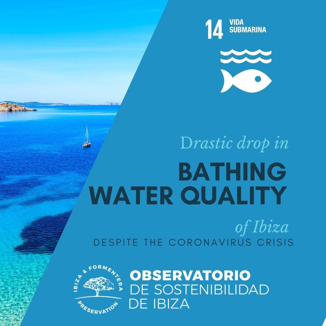 The quality of bathing waters in Ibiza drastically decreases despite the coronavirus crisis