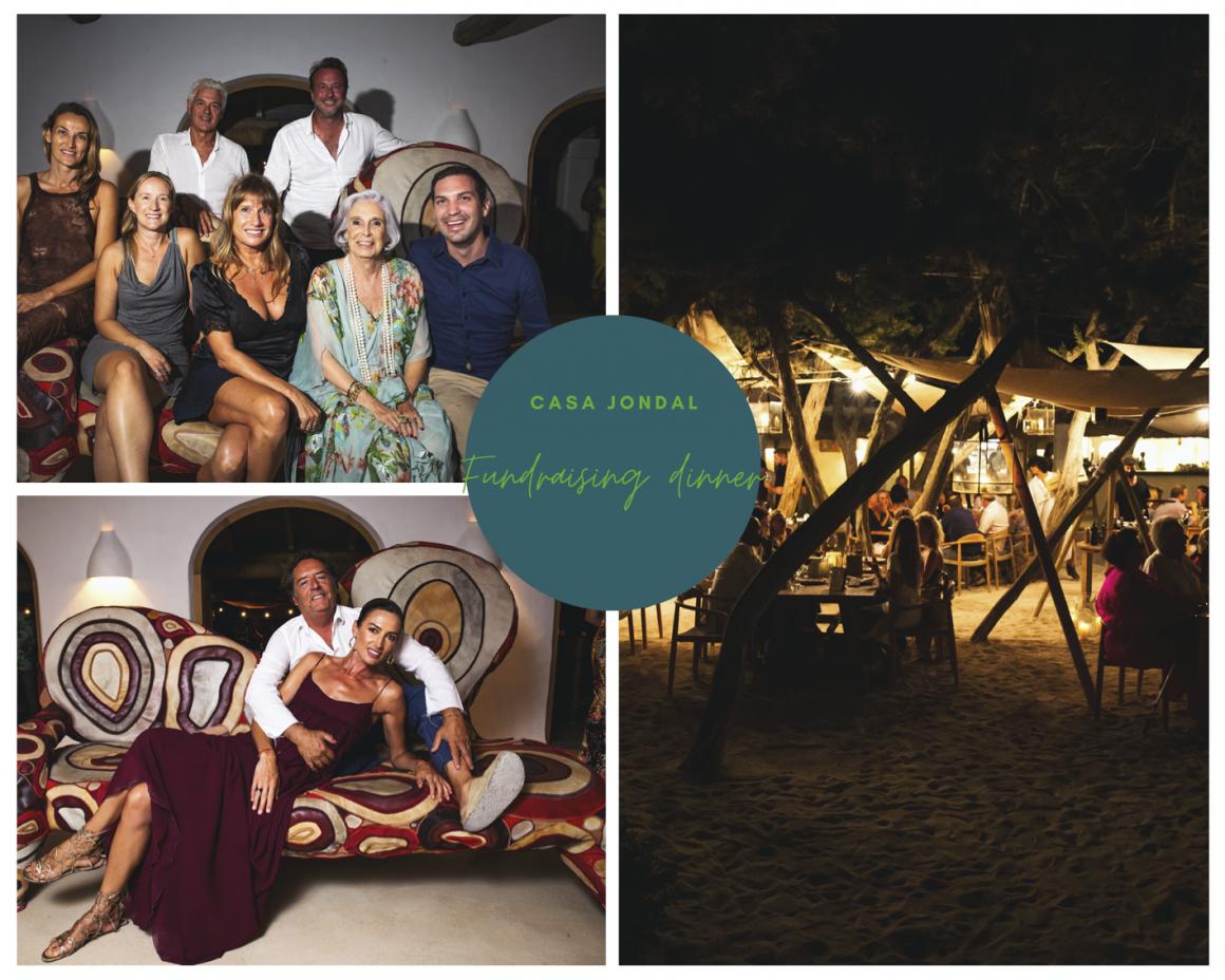 IbizaPreservation celebrate a fundraising dinner under the stars at Jondal